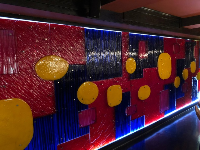 wall in sushi room