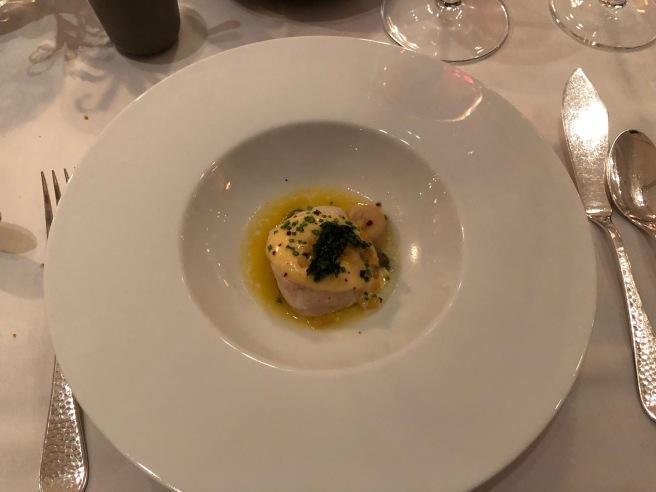 Island Shellfish, Kalamansi lemon, brown butter, parsley