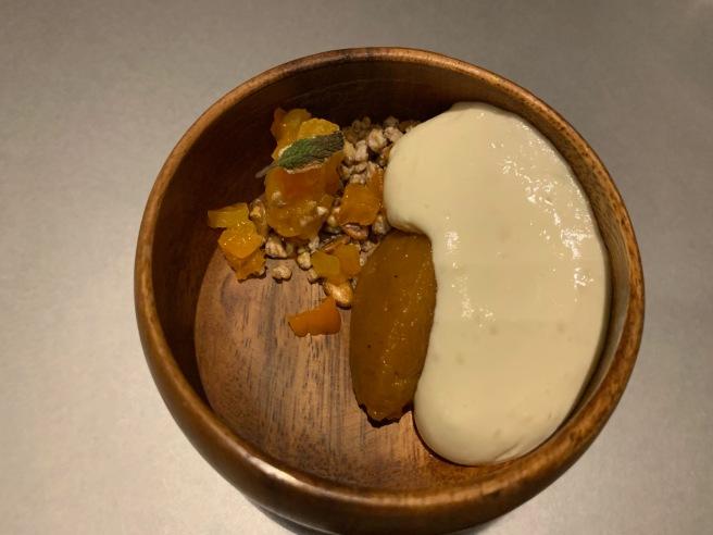 gourd, hoja santa, tamarind, chocolate