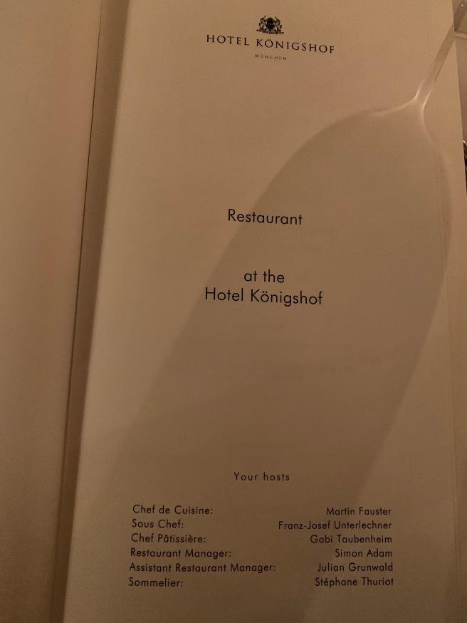 menu front page