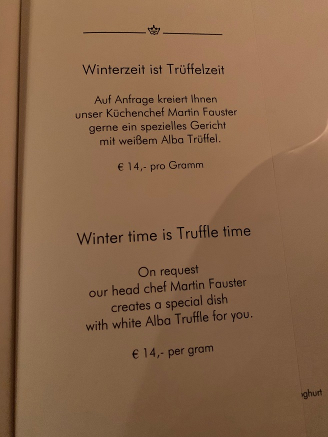 truffle special