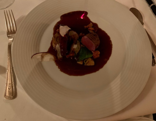 Venison, Knuckle, wild mushrooms and white cabbage