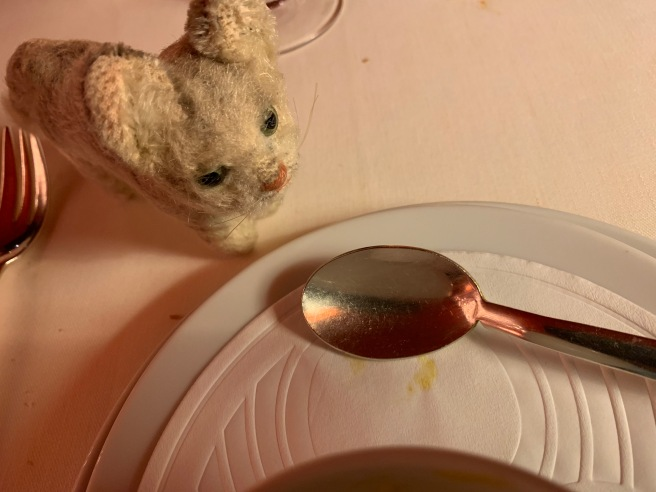 Frankie thought a crooked spoon might be hard to use