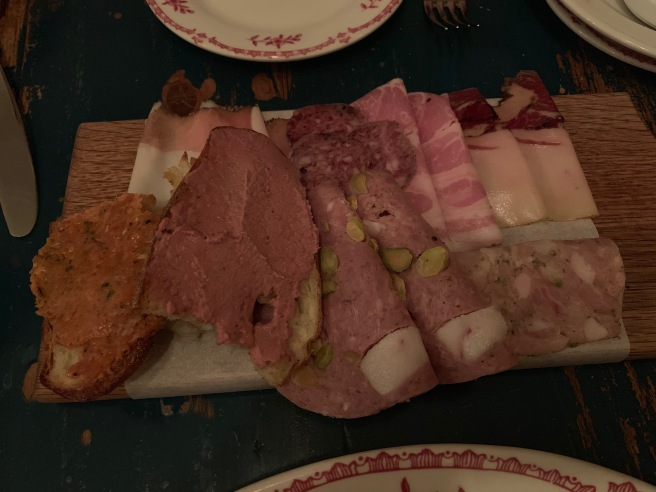 Salumi misti (small) - a tasting of house-made cured meats
