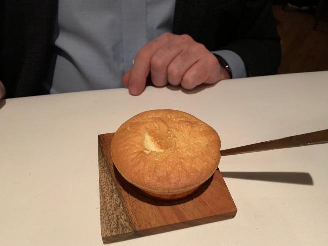 soufflé opening