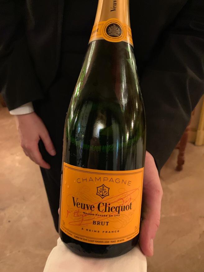 beginning champagne