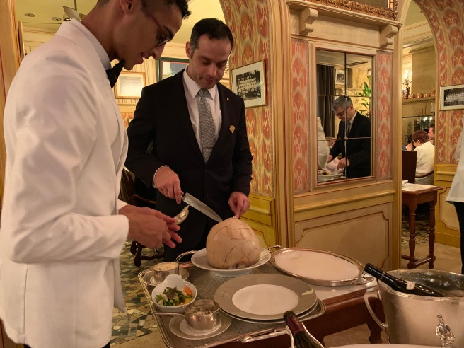 opening tableside