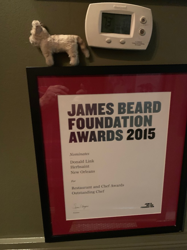 Frankie and a James Beard Award