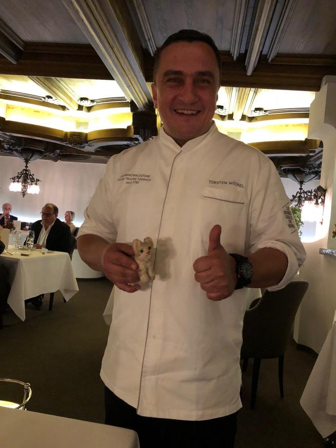 Chef Torsten Michel and Frankie