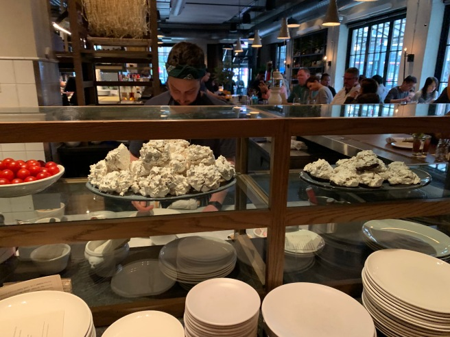peek at the dessert area