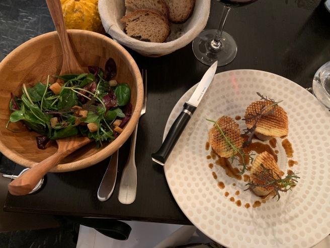 pigfoot and salad