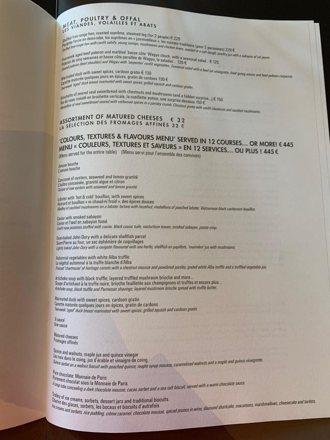 full menu 2