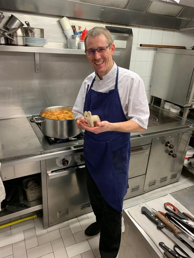 Chef/Owner Tribet Nicolas