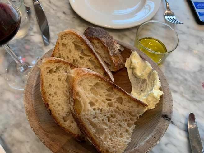 MHB&B Country Bread, olive oil or whipped butter