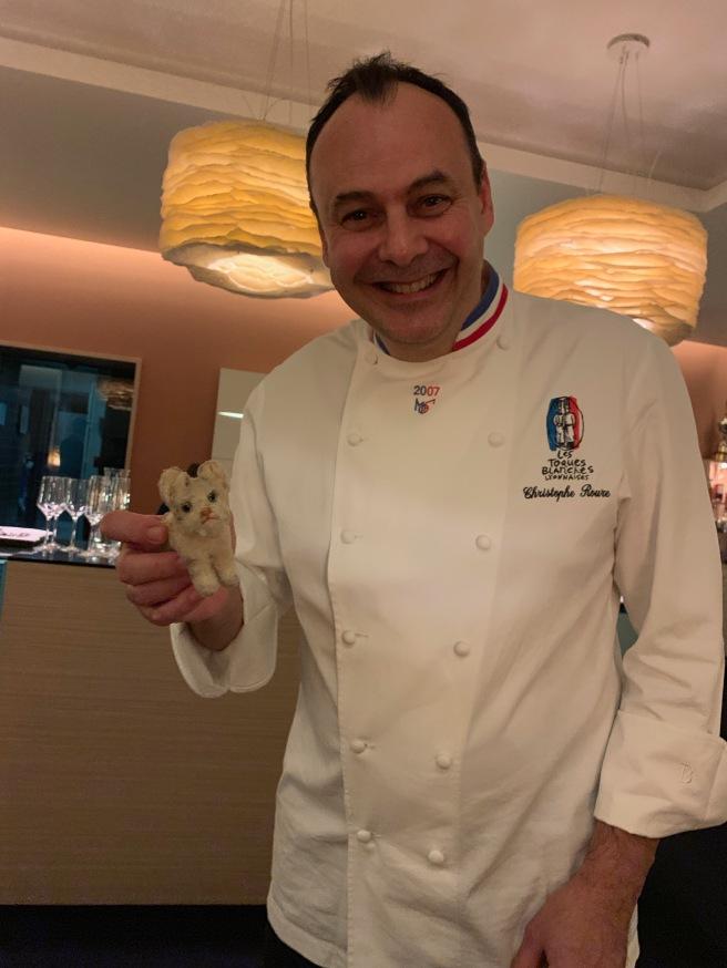 Chef Christophe Roure of Restaurant Le Neuvieme Art