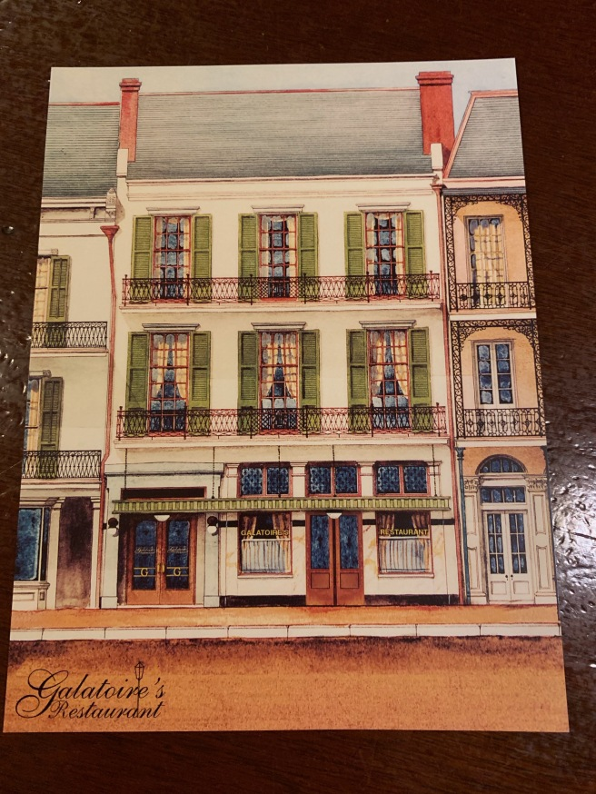 postcard of building