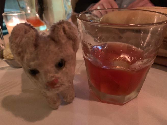 Frankie loves a cocktail