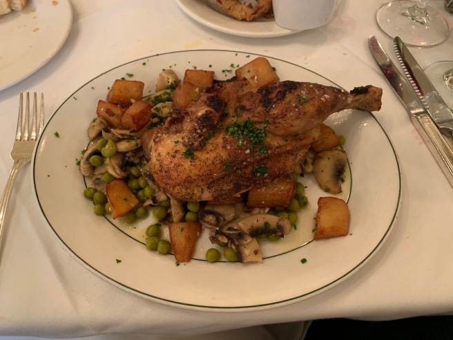 Chicken Clemenceau