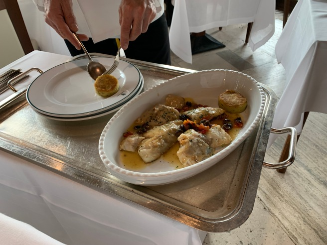 plated tableside