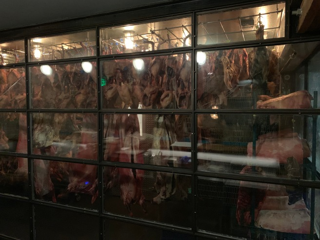 downstairs meat locker