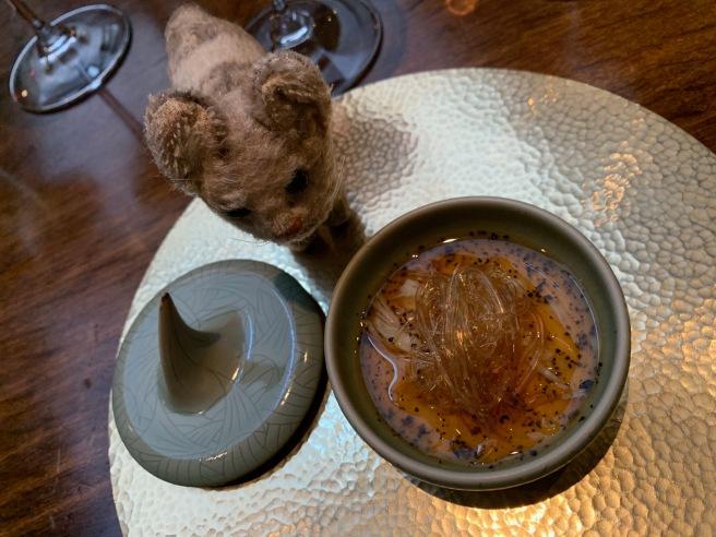 Frankie liked the dish