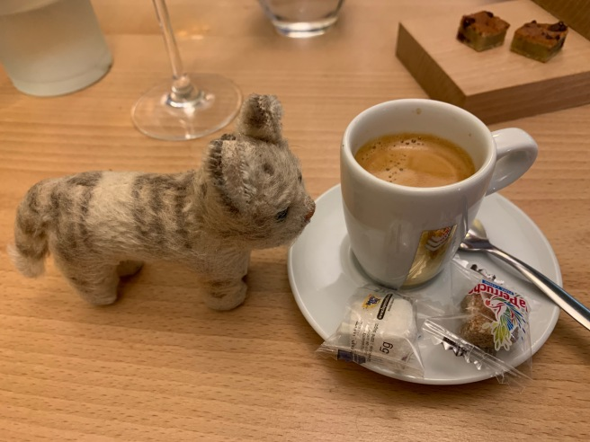 Frankie wanted a coffee