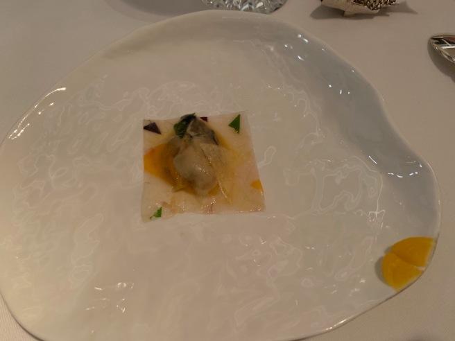 oyster in sea bream