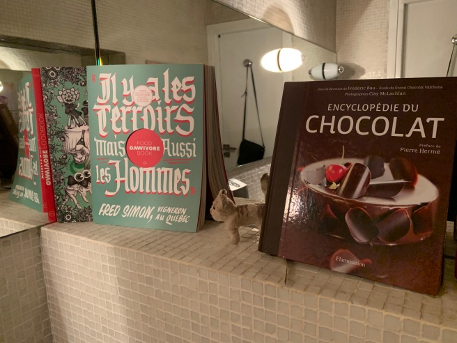 Frankie found some cookbooks